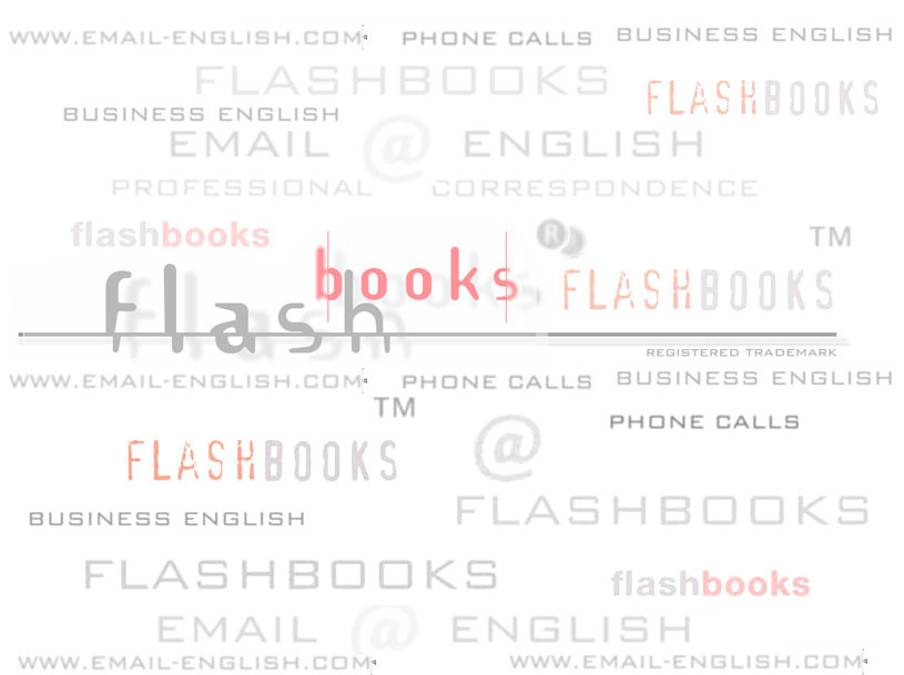 FLASHBOOKS EMAIL ENGLISH PHONE CALLS